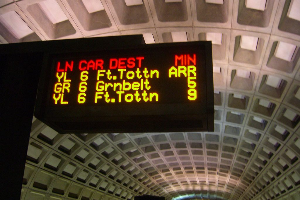 DC metro transportation