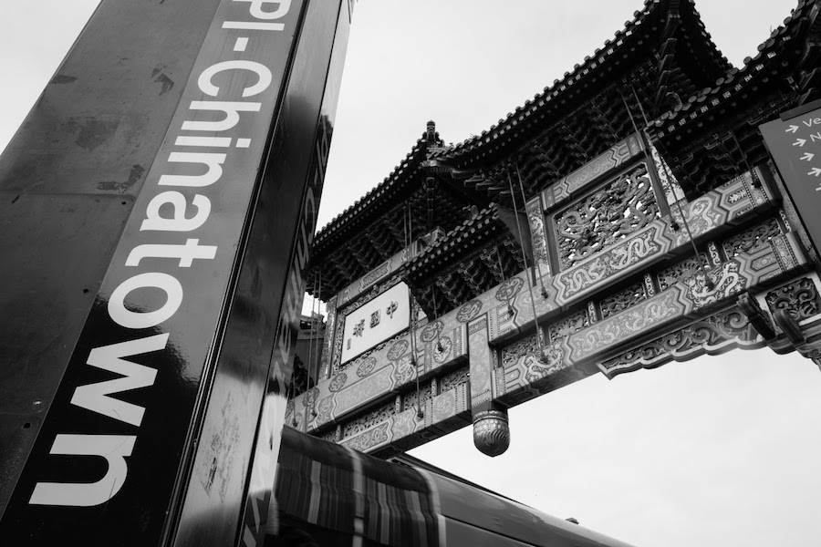 china town station