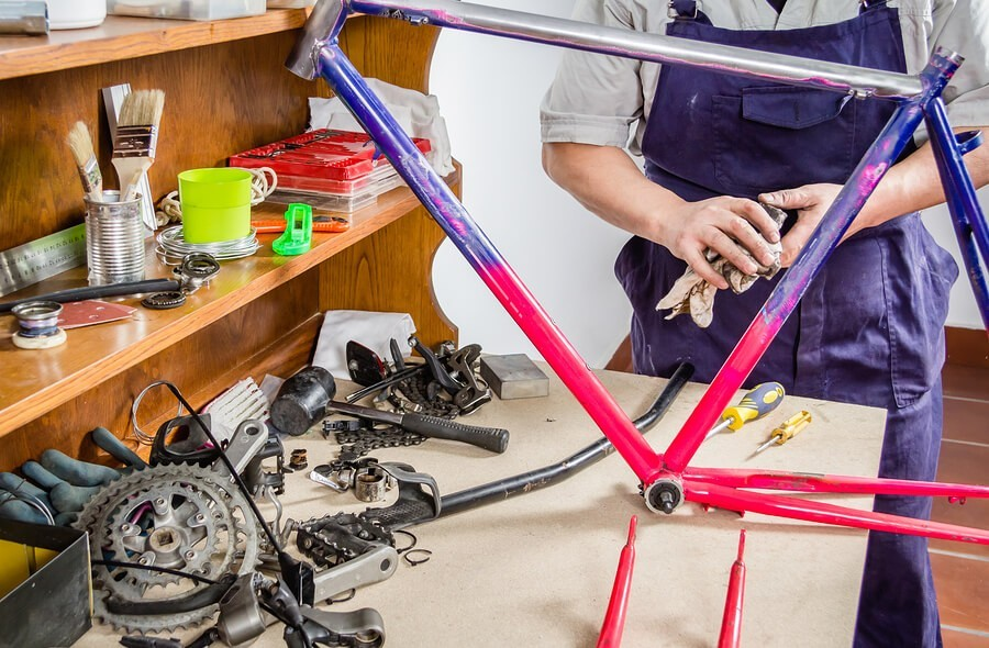 , DARO Joins Gearin' Up Bicycle to Upcycle & Repurpose Abandoned Bikes