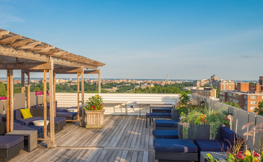 Rooftop view in our Parkwest complex in Washington, DC