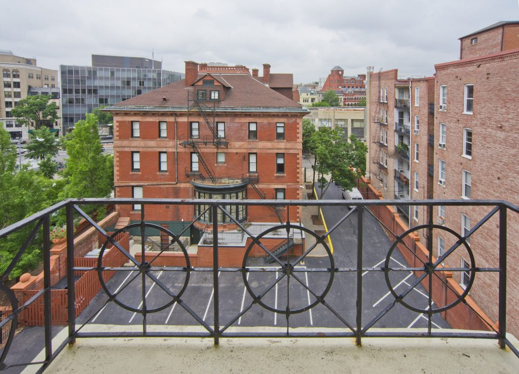 Balcony view from one of our Rodney apartment units in Washington, DC