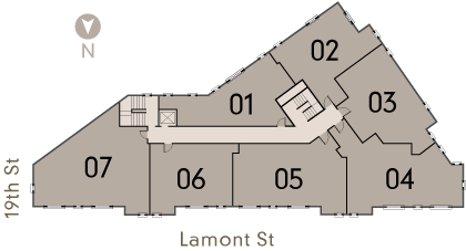 1900 Lamont Apartments in DC 5