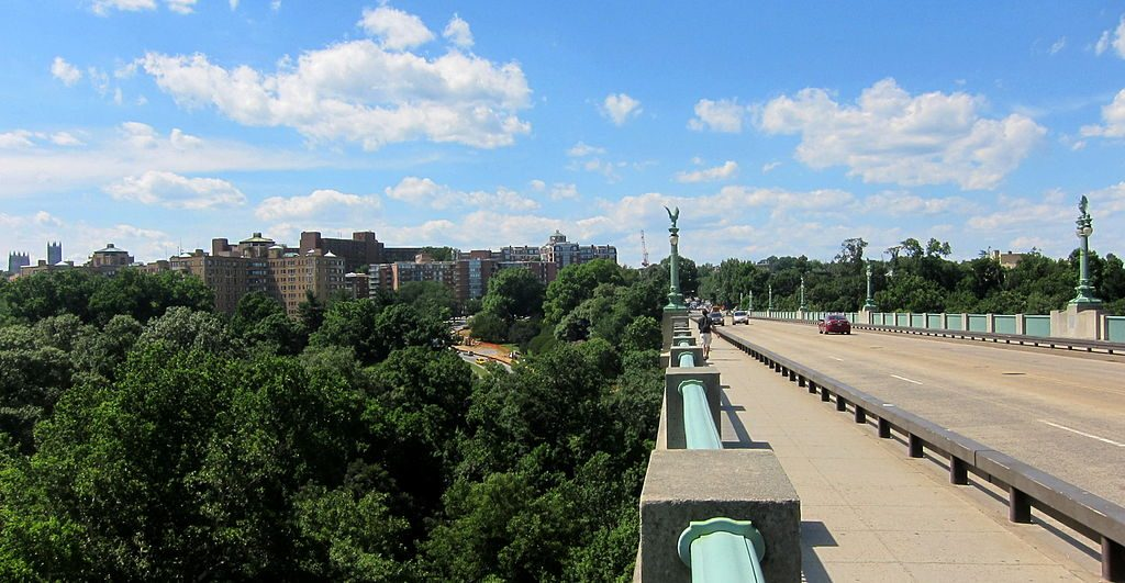 Taft bridge in Washington, DC