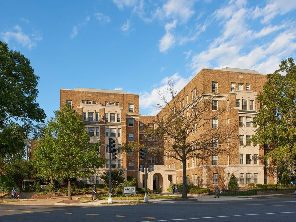 The archer is located in the heart of Cathedral Heights, Washington, DC