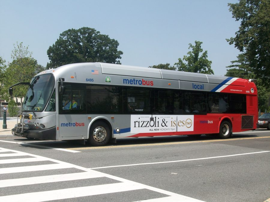 Commuter bus transportation in Washington, DC