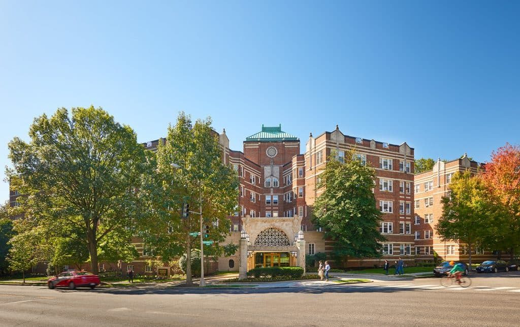 Exterior view of our Sedgwick Gardens in Washington, DC