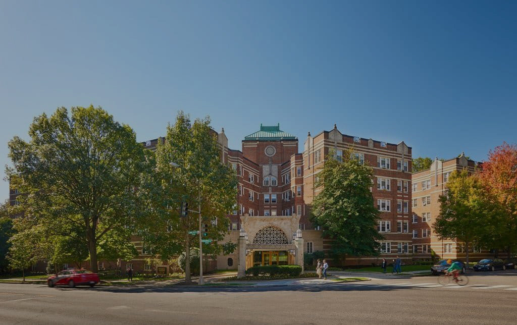 Exterior view of Sedgwick Gardens in Washington, DC
