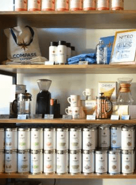 Compass Coffee shop in Washington, DC