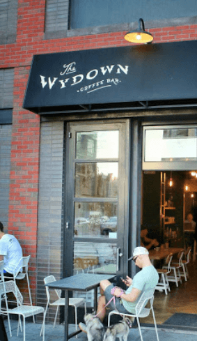 The Wydown Coffee Bar in Washington, DC