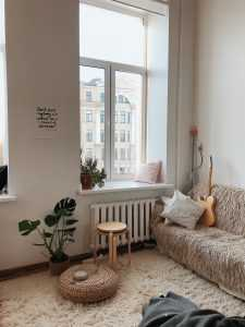 small apartment room