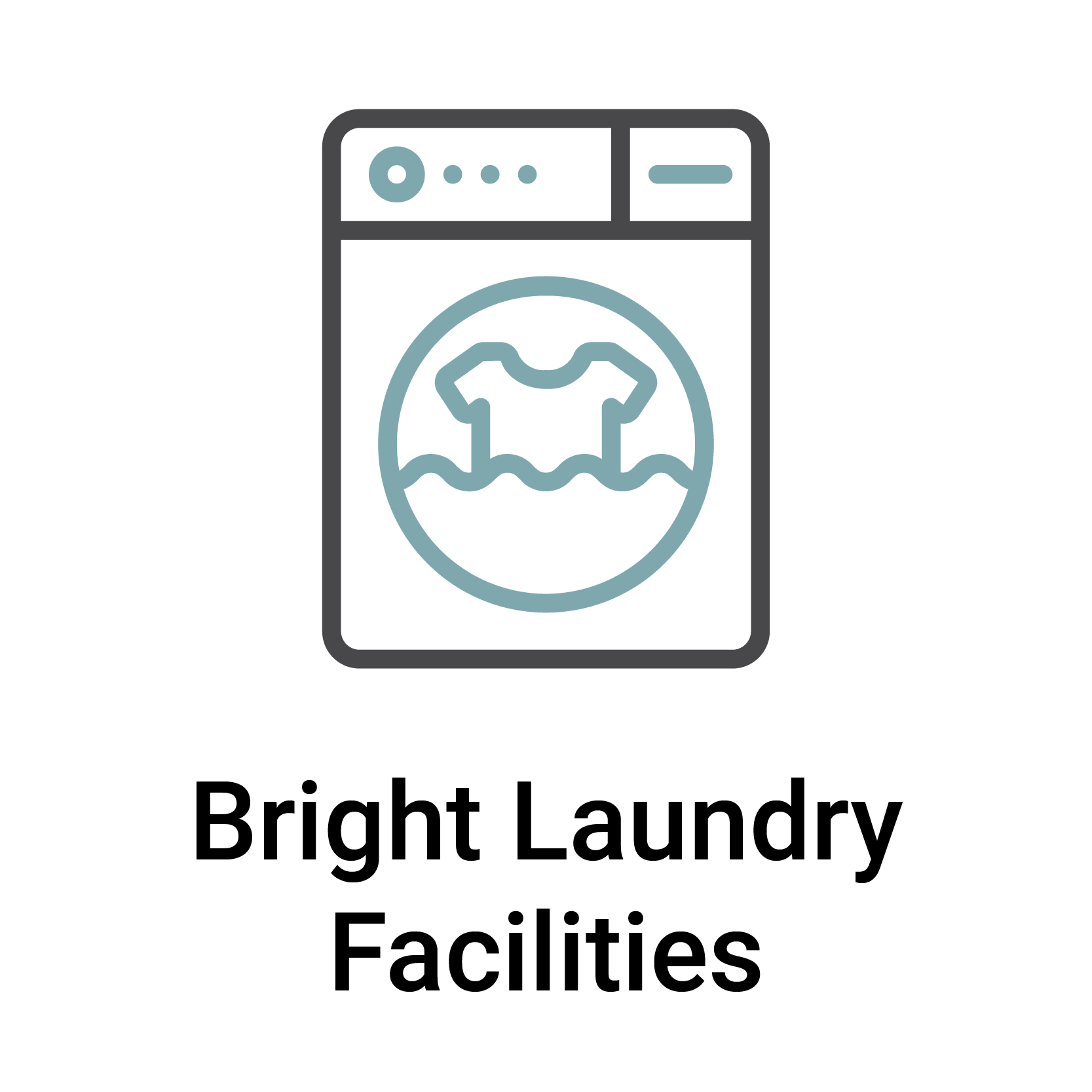 Bright Laundry Facilities
