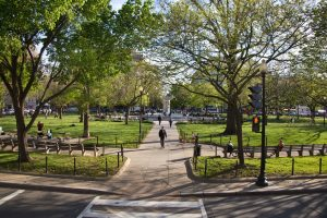people-finding-things-to-do-in-dupont-circle-park-with-fountain-and-green-spaces