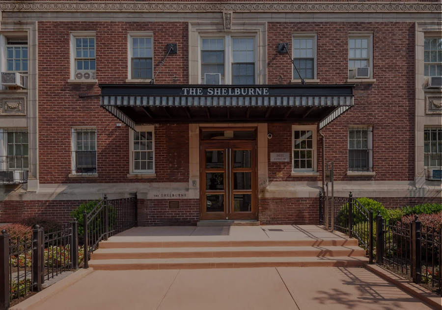 The Shelburne Apartments front entrance
