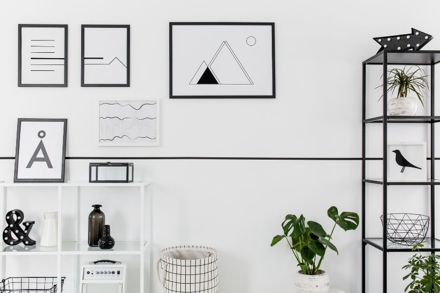 hanging pictures safely