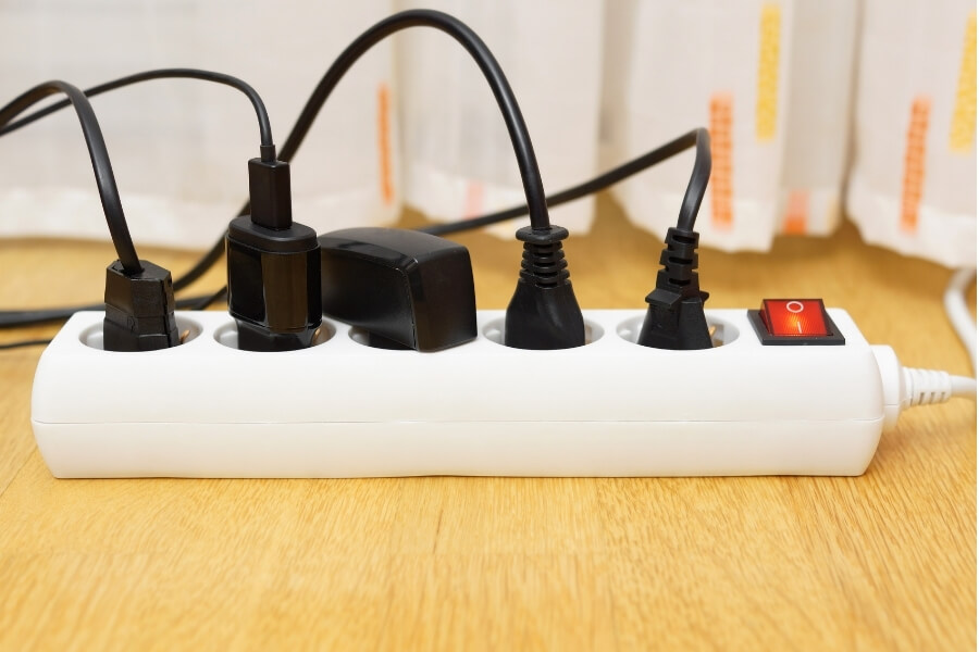 Apartment Fire Safety surge protector