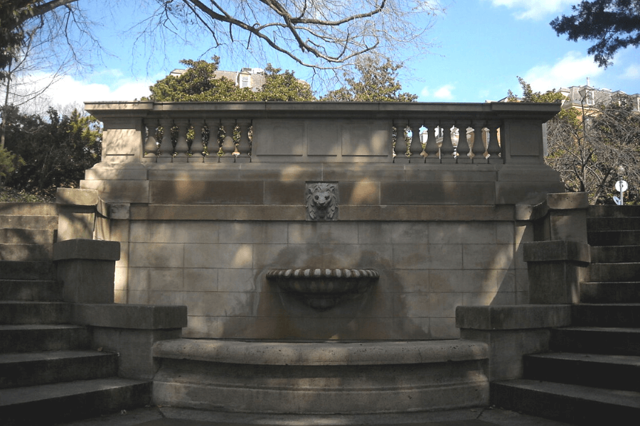 Spanish Steps in the Kalorama part of D.C.