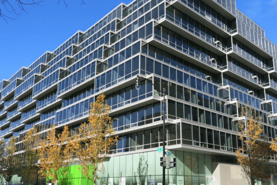 New West End Library building in Washington D.C.