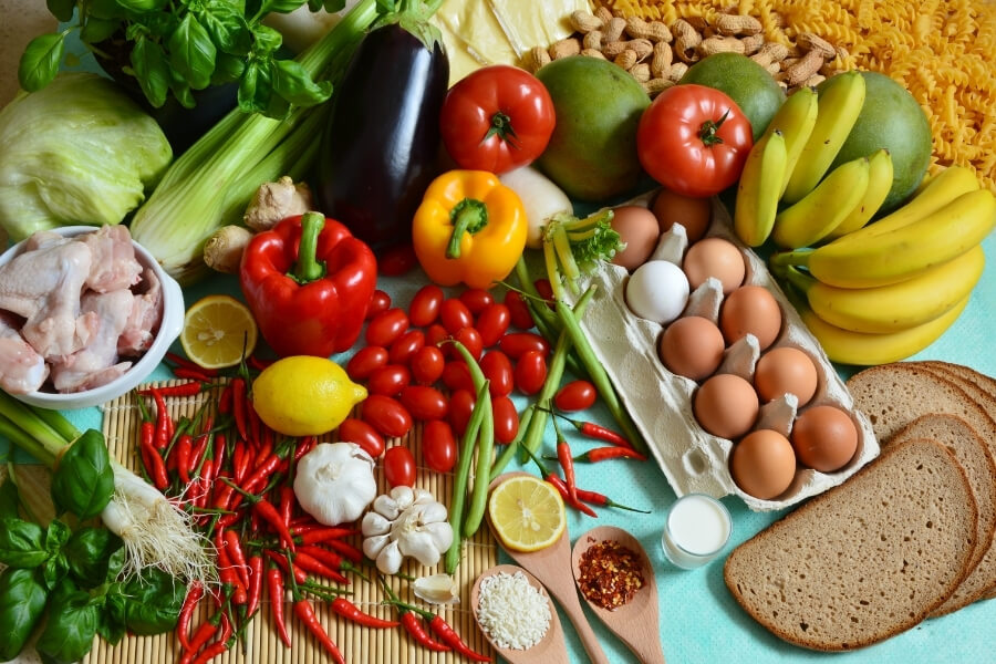 5 Food Groups of Healthy foods to eat
